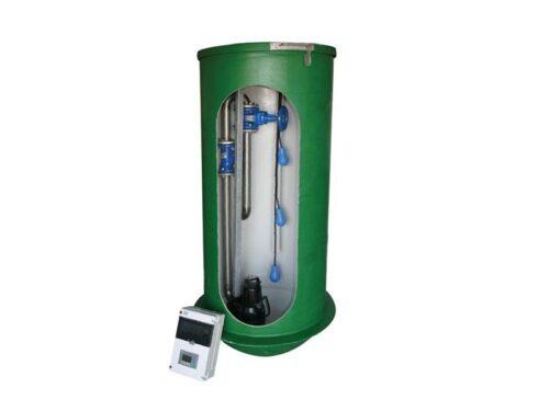 Pumpestation 1 pumpe